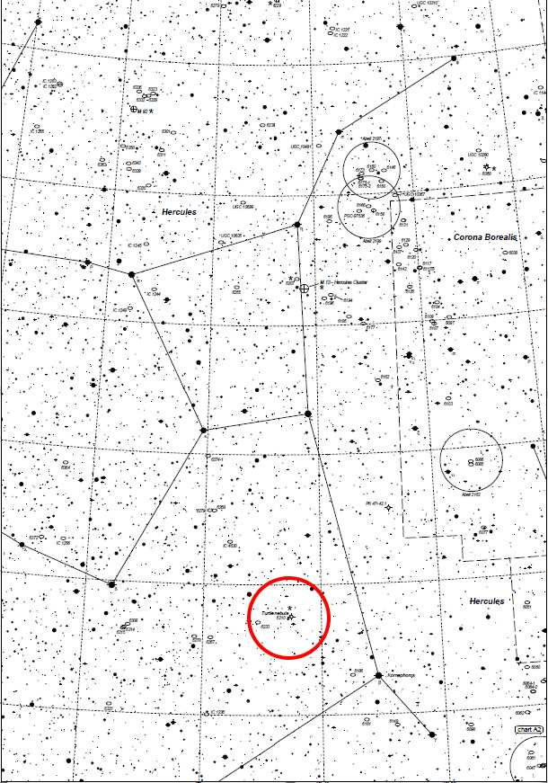 NGC6210 Mappa